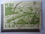 Stamps Peru -  Matarani. Nuevo Puerto Comercial del Sur.