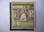 Sellos de America - Perú -  Primer Centenario del Nacimiento de Daniel Carrion Garcia 1857-1957