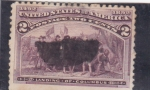 Stamps United States -  aniversario descubrimiento de America