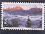 Sellos de America - Estados Unidos -  paisaje