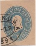 Stamps United States -  Scott Nº U69_1