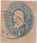 Stamps United States -  Scott Nº U69_3