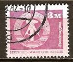 Sellos del Mundo : Europa : Alemania :  Escudo de armas del estado,(DDR).
