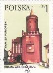 Sellos del Mundo : Europa : Polonia : catedral de Brama Wolinska