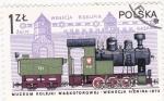 Sellos de Europa - Polonia -  máquina de vapor