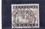 Stamps Belgium -  castillo de Bouillon