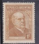 Sellos de America - Argentina -  Domingo F, Sarmiento