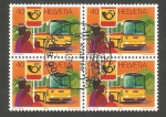 Stamps : Europe : Switzerland :  1111 - Vehículo postal