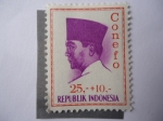 Stamps Indonesia -  Sukarno.