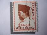 Sellos de Asia - Indonesia -  Sukarno.