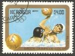 Sellos de America - Nicaragua -  1071 - Olimpiadas Los Angeles 84