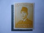 Sellos de Asia - Indonesia -  Achmed Sukarno  (1901/70)