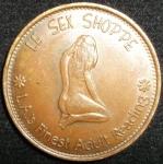 monedas de America - Estados Unidos -  (Reverso) Token