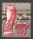 Stamps Malta -  305 - Estatua romana