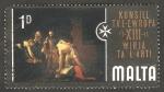 Sellos de Europa - Malta -   13 Exposición de arte del Consejo de Europa, Muerte de San Juan Bautista