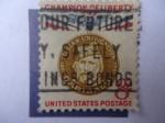 Sellos de America - Estados Unidos -  Champion of Liberty- Garidaldi -