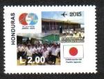Sellos de America - Honduras -  80 Aniversario de Relaciónes Diplomaticas Entre Japón y Honduras