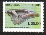 Stamps Honduras -  Fortaleza de San Fernando de Omoa