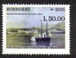 Sellos de America - Honduras -  Fortaleza de San Fernando de Omoa
