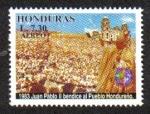 Sellos de America - Honduras -  Jubileo 2000, Juan Pablo II, Peregrino de La Paz