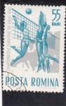 Stamps Romania -  volei femenino