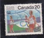 Stamps Canada -  XXI Olimpiada Montreal-76