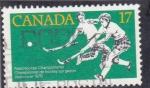 Sellos de America - Canadá -  campeonato de hockey hierba Vancouver-79