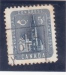 Stamps : America : Canada :  congreso U.P.U. Otawa