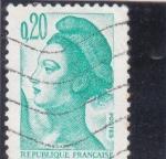 Sellos de Europa - Francia -  Marianne