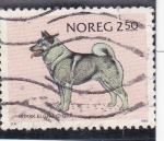 Stamps Norway -  perro