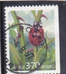 Sellos de Europa - Noruega -  mariquita