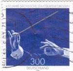 Stamps Germany -  manos y batuta