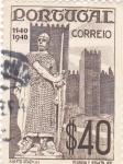 Sellos del Mundo : Europa : Portugal : soldado y castillo