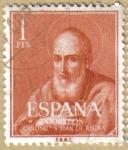 Stamps Spain -  Canonizacion del Beato Juan de Ribera