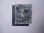 Stamps France -  Sembradora 1927.