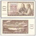 monedas del Mundo : Europa : Checoslovaquia :  88 - Dos niñas con flores y la presa de Orava