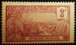 Stamps America - Guadeloupe -  Monte Houelmont