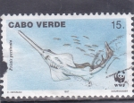 Stamps Cape Verde -  pez sierra