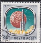 Sellos de Europa - Hungría -  aeronáutica- Mars