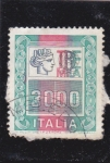 Stamps Italy -  cifras