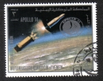 Stamps Yemen -  Misión a La Luna