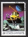 Sellos de Asia - Yemen -  Apolo 10 - proyecto de exploración lunar