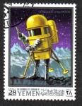 Stamps Yemen -  Apolo 10 - proyecto de exploración lunar