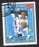 Sellos de Asia - Yemen -  Exploración del Espacio