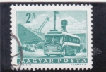Sellos de Europa - Hungría -  transporte