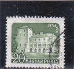 Sellos del Mundo : Europa : Hungría : edificio Tatai  Var
