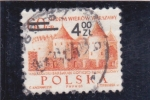 Stamps Poland -  castillo