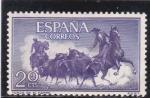 Sellos del Mundo : Europa : España :  toros en el campo (21)