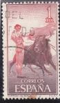 Stamps : Europe : Spain :  corrida de toros (21)