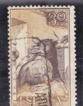 Stamps Spain -  toro saliendo del redil (21)